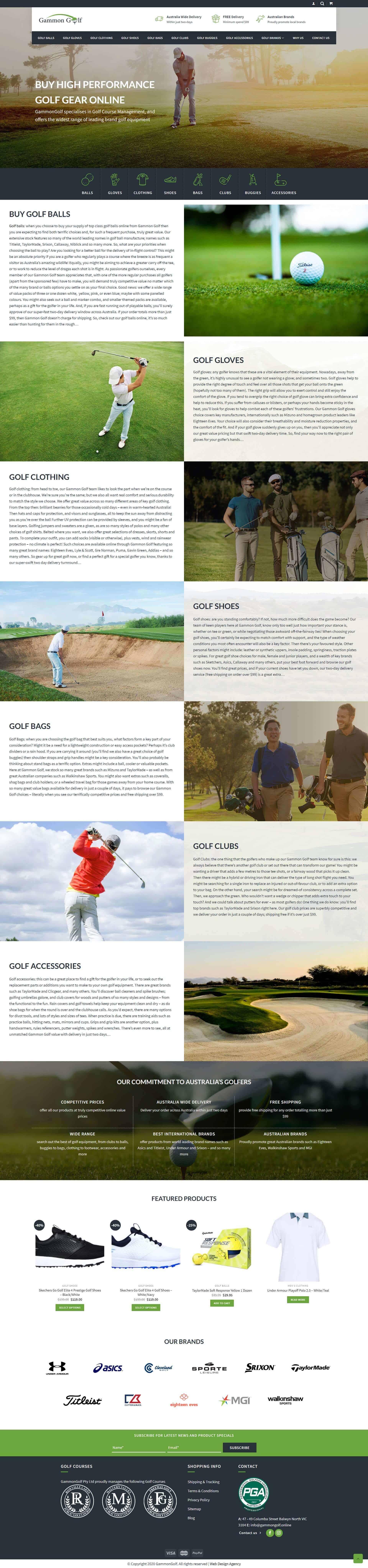 Gammon Golf